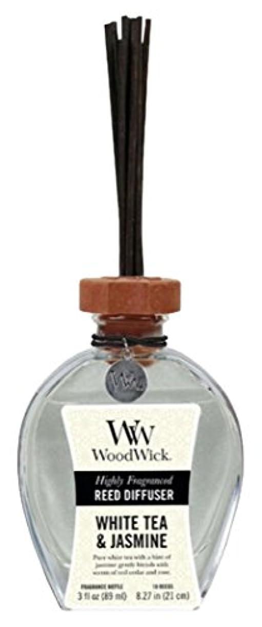 実り多い釈義可愛いWood Wick ウッドウィック リードディフューザーS ホワイトティージャスミン