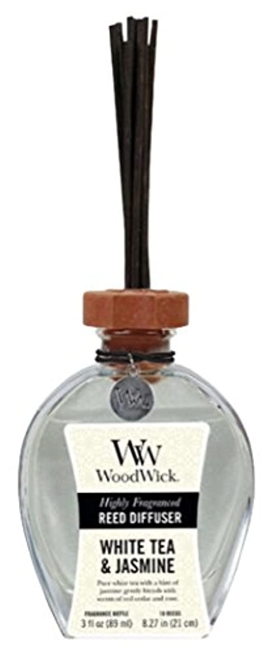 を必要としていますふさわしい合理的Wood Wick ウッドウィック リードディフューザーS ホワイトティージャスミン