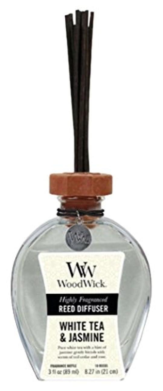転用女優犯罪Wood Wick ウッドウィック リードディフューザーS ホワイトティージャスミン