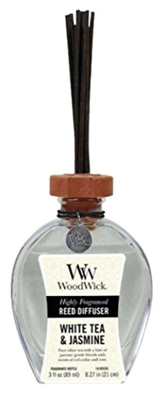 惑星アレイ各Wood Wick ウッドウィック リードディフューザーS ホワイトティージャスミン