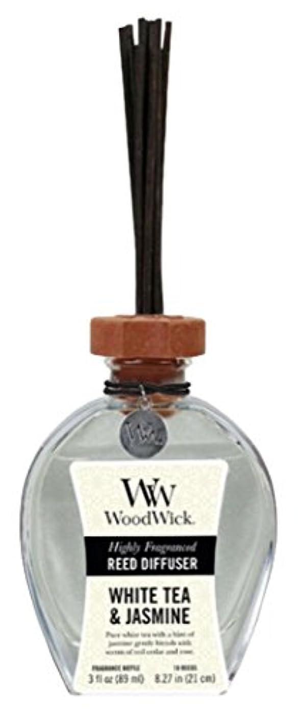ハミングバードつかいます論理Wood Wick ウッドウィック リードディフューザーS ホワイトティージャスミン