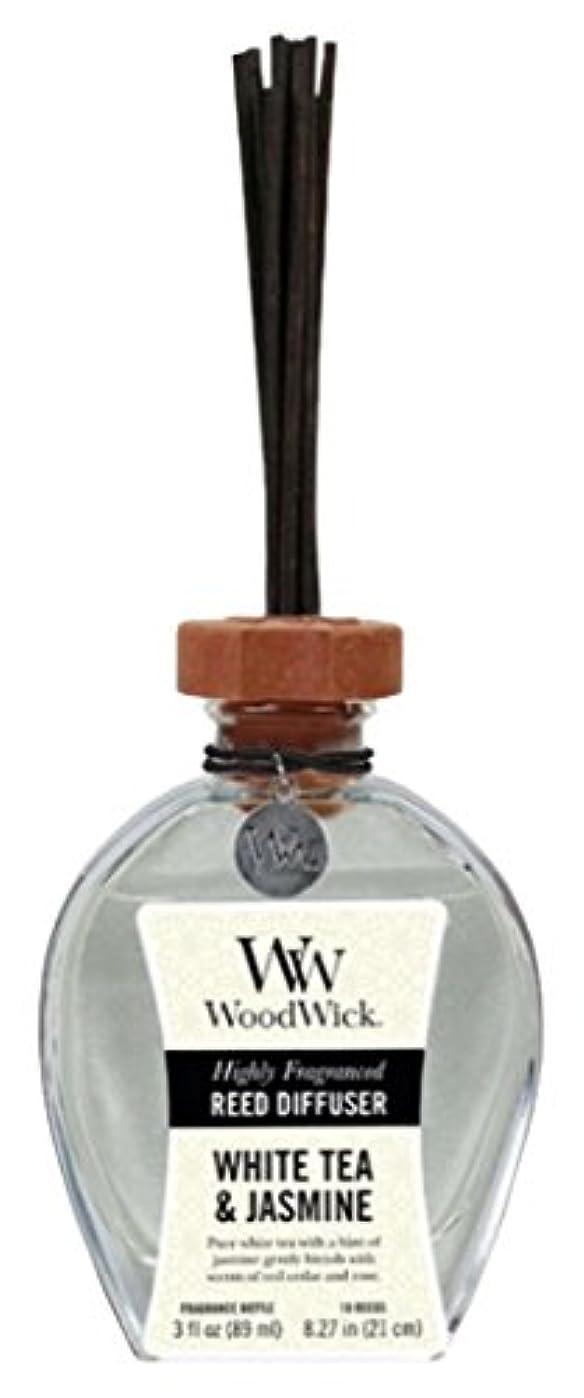 自殺奴隷霜Wood Wick ウッドウィック リードディフューザーS ホワイトティージャスミン
