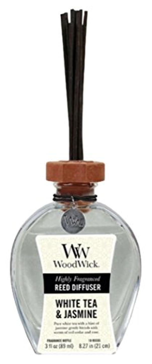 配る現れる増加するWood Wick ウッドウィック リードディフューザーS ホワイトティージャスミン