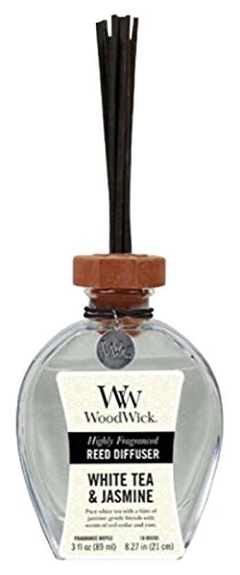 特異性デジタル薬Wood Wick ウッドウィック リードディフューザーS ホワイトティージャスミン