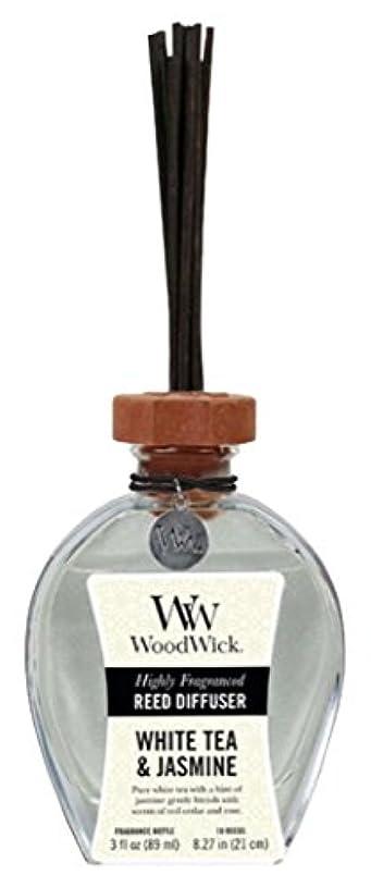Wood Wick ウッドウィック リードディフューザーS ホワイトティージャスミン