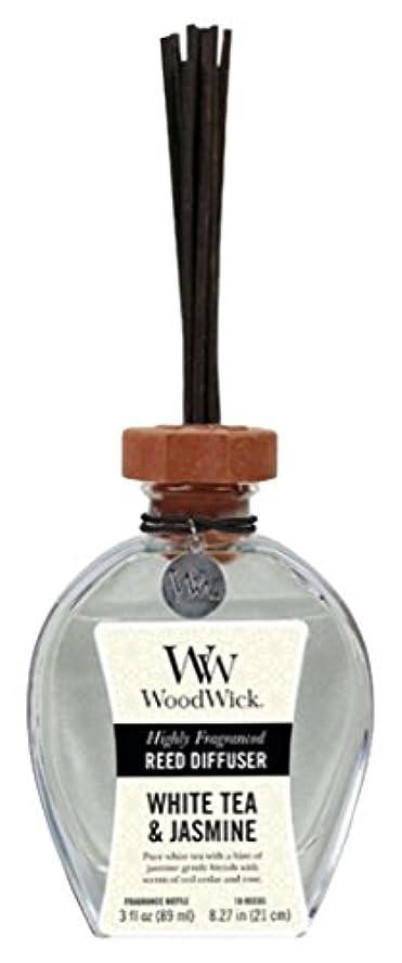 悲鳴有害な衛星Wood Wick ウッドウィック リードディフューザーS ホワイトティージャスミン