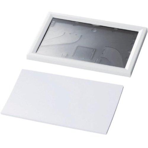 ELECOM 手作りカレンダー 作成キット はがきサイズ 卓上タイプ フォトフレームタイプ EDT-CALH4K