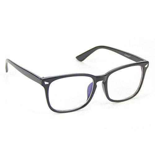 Cyxus(シクサズ)青色光カットめメガネ[透明レンズ]視力...