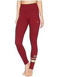 [PUMA(プーマ)] レディースセータージャンプスーツ Athletic Logo Leggings Pomegranate/Gold XL