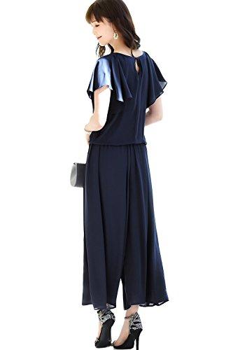 """[해외]RUIRUE BOUTIQUE (루이 루 센터) 비쥬있는 와이드 팬츠 설치 정장 `PA533`여성/RUIRUE BOUTIQUE (Louis Rue Boutique) Wide pants setup suit with bijou """"PA533"""" Women`s"""