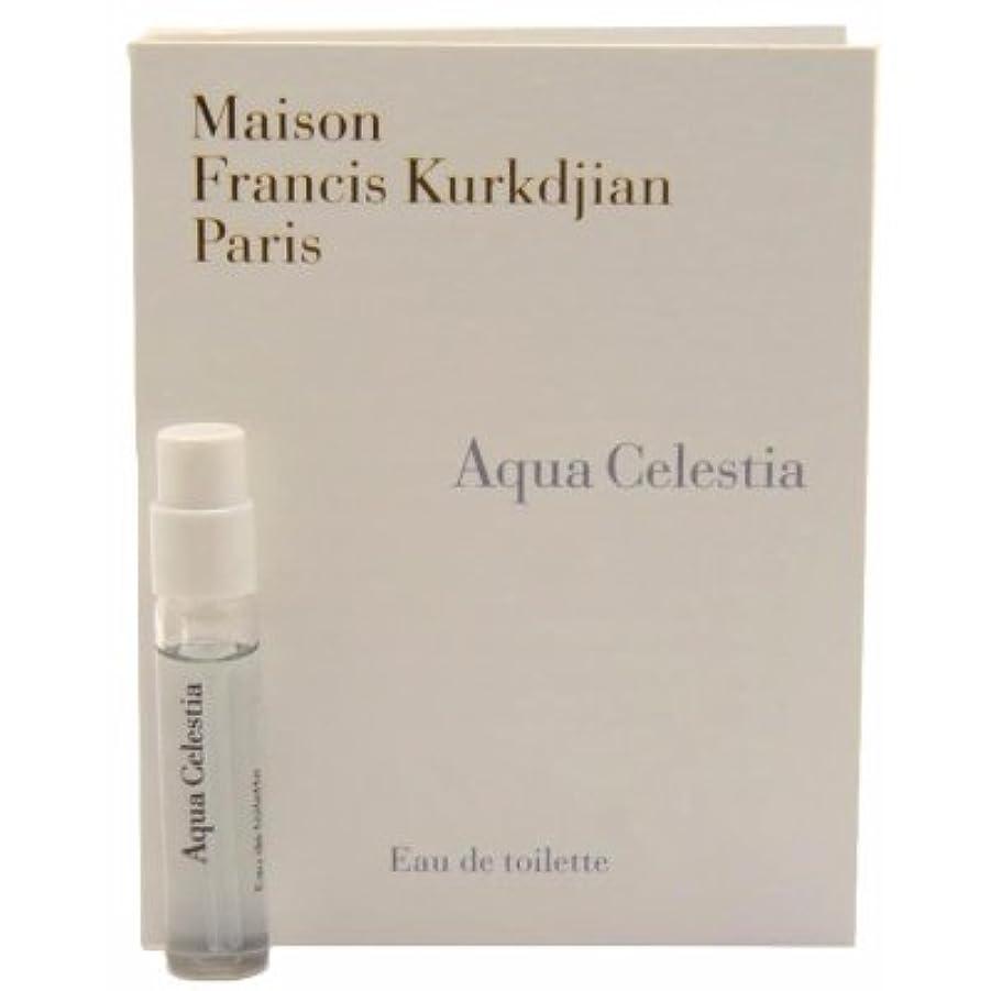 追い出す立派な解任Maison Francis Kurkdjian Aqua Celestia EDT Vial Sample 2ml(メゾン フランシス クルジャン アクア セレスティア オードトワレ 2ml)[海外直送品] [並行輸入品]