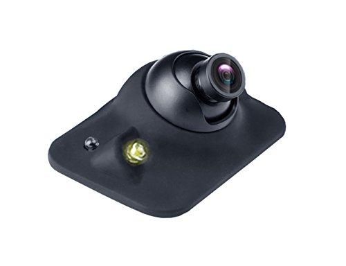 OBEST 車載 カメラ 前方死角カメラ LEDランプ付き ...