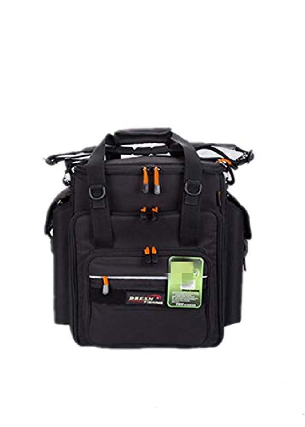 叱る量で床を掃除するBjzxz ラージ バックパック 斜め手錠 肩 釣り用具バッグ (カラー:ブラック)