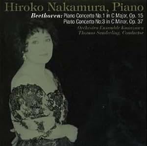 ベートーヴェン : ピアノ協奏曲第1番&第3番