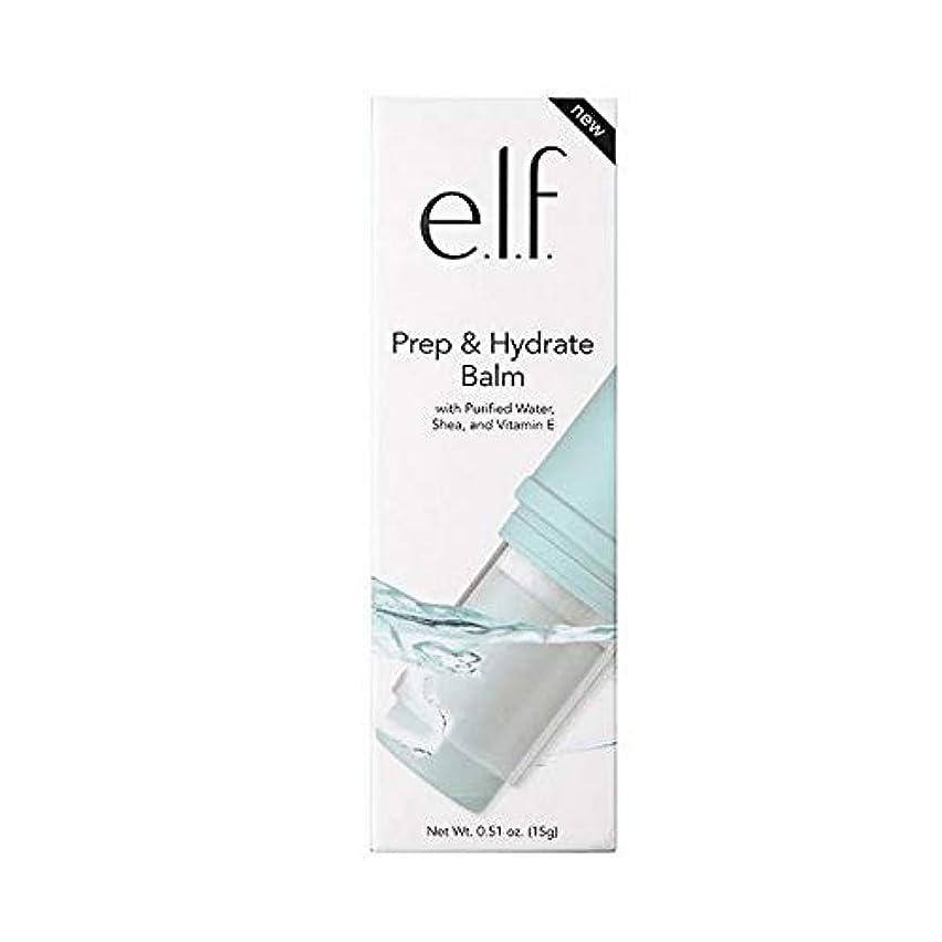 円形荒れ地ブリリアント[Elf ] エルフ。予備校&ハイドレートクリーム - e.l.f. Prep & Hydrate Balm [並行輸入品]