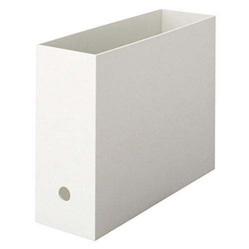 RoomClip商品情報 - 無印良品 ポリプロピレンファイルボックス・スタンダードタイプ A4・ホワイトグレー