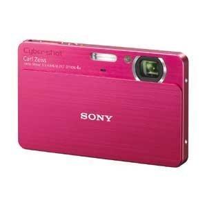 ソニー SONY デジタルカメラCybershotT700 (1010万画素光学x4内蔵メモリ4G3.5型タッチP液晶)レッド DSC-T700/R