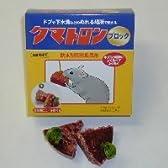 タニサケ クマトロンブロック 20g×6個入 ネズミ用殺鼠剤