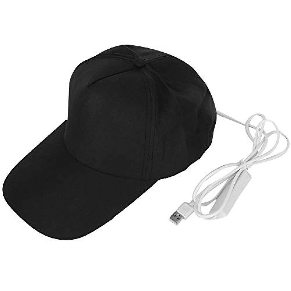 女優最適化学薬品調節可能な毛の成長の器械ランプのビードの帽子