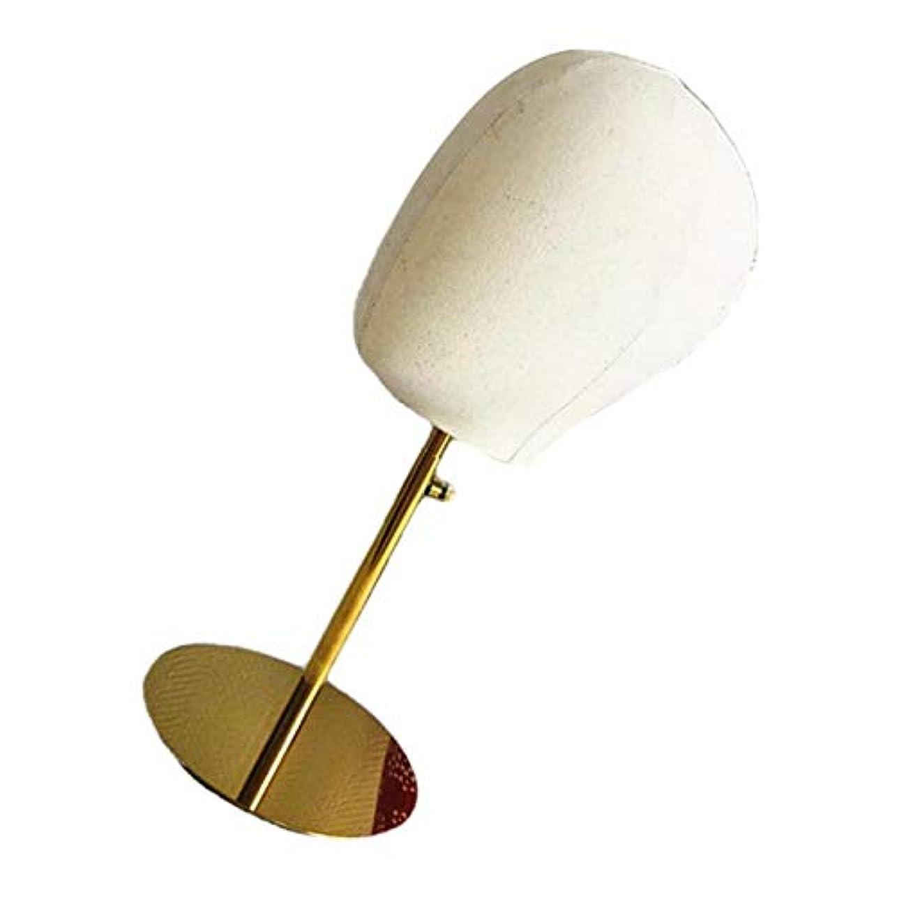 かるうなり声透けて見えるSM SunniMix ウィッグ スタンド マネキンヘッド ヘッドモデル 調整可能な かつら 帽子 ディスプレイ 全2種 - 2