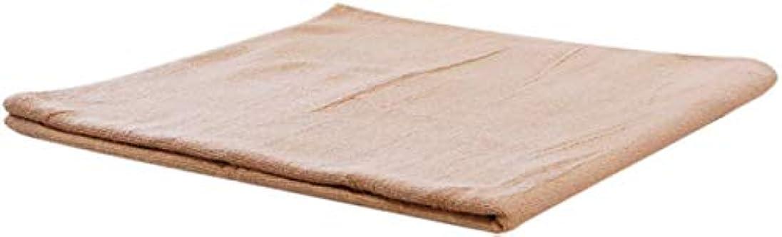 防衛ブルジョン法的まとめ売り コットン バスタオル (ベージュ 5枚) 業務用タオル
