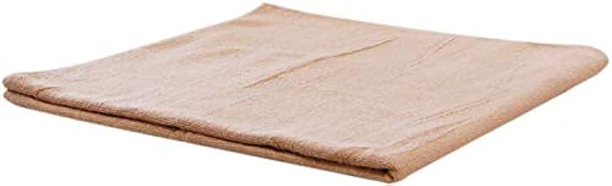 眼ビスケット恒久的まとめ売り コットン バスタオル (ベージュ 5枚) 業務用タオル