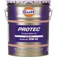 ガルフ プロテック 10W-40 SL/SJ-A3 部分合成油 20L