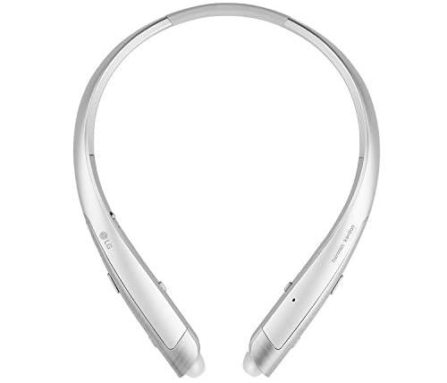 【国内正規品】LG TONE PLATINUM™ ワイヤレスステレオヘッドセット(日本語対応) HBS-1100 シルバー 高音質aptX™HD対応 harman/kardon®Plutinum認証 HBS-1100.AGJPSV