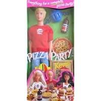 バービー - Pizza Party KEVIN ドール Pizza Hut Pizza More (1994) 131002fnp [並行輸入品]