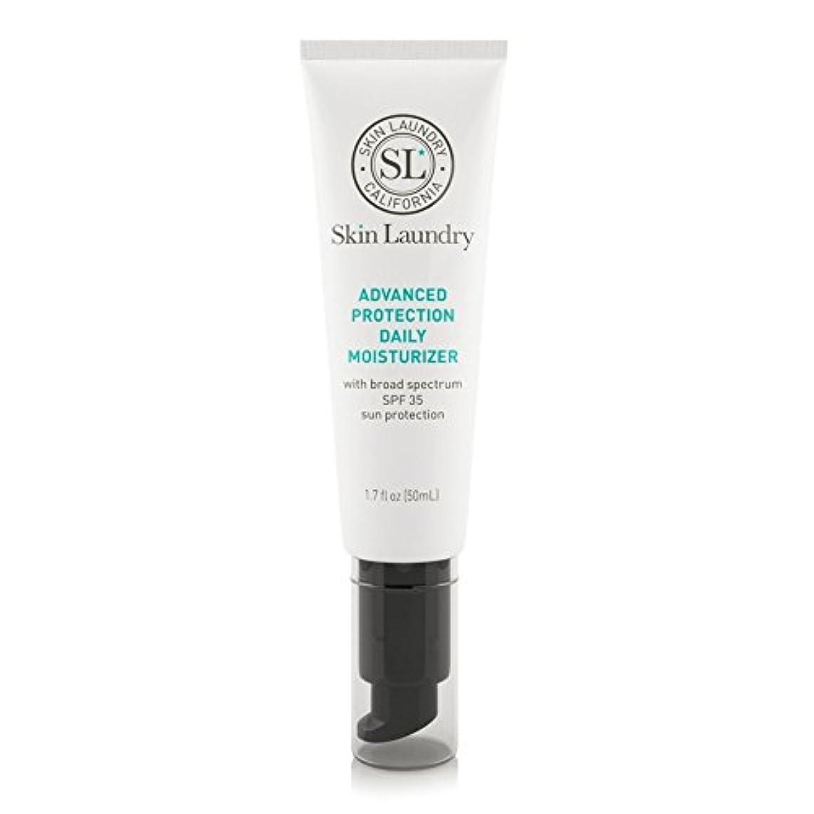 穏やかな敬ジャズ皮膚の洗濯高度な保護毎日保湿50ミリリットル x4 - Skin Laundry Advanced Protection Daily Moisturiser 50ml (Pack of 4) [並行輸入品]