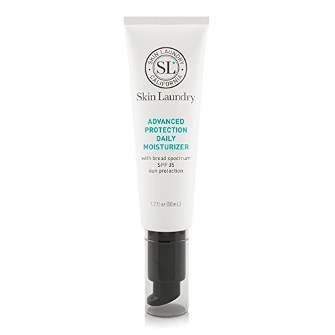 ジャベスウィルソン置くためにパックヒューバートハドソン皮膚の洗濯高度な保護毎日保湿50ミリリットル x4 - Skin Laundry Advanced Protection Daily Moisturiser 50ml (Pack of 4) [並行輸入品]