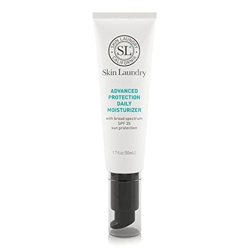 ぼかす故意の魅了する皮膚の洗濯高度な保護毎日保湿50ミリリットル x2 - Skin Laundry Advanced Protection Daily Moisturiser 50ml (Pack of 2) [並行輸入品]