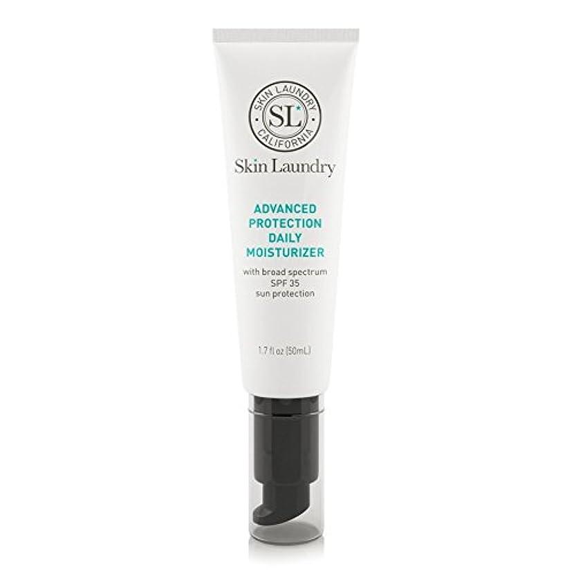 リードありそう動物皮膚の洗濯高度な保護毎日保湿50ミリリットル x2 - Skin Laundry Advanced Protection Daily Moisturiser 50ml (Pack of 2) [並行輸入品]