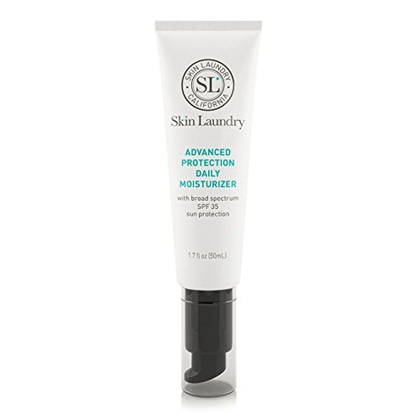 ファイアル軍登山家皮膚の洗濯高度な保護毎日保湿50ミリリットル x2 - Skin Laundry Advanced Protection Daily Moisturiser 50ml (Pack of 2) [並行輸入品]