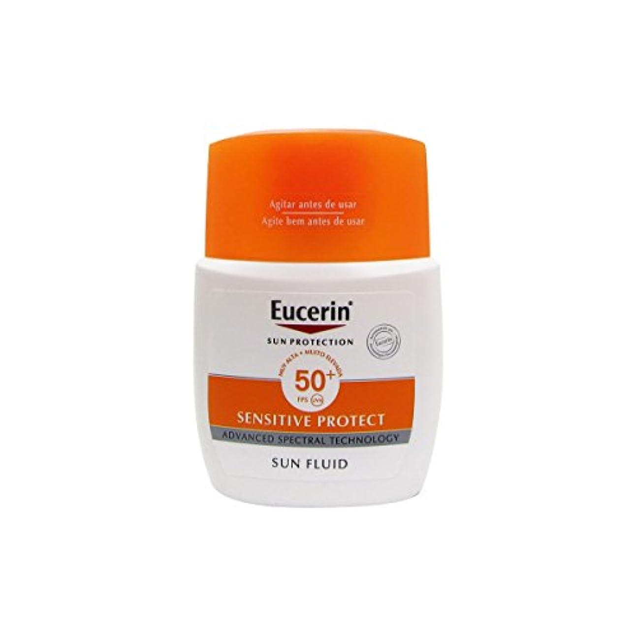 無駄リハーサルオーガニックEucerin Sun Mattifying Fluid Spf50+ 50ml [並行輸入品]