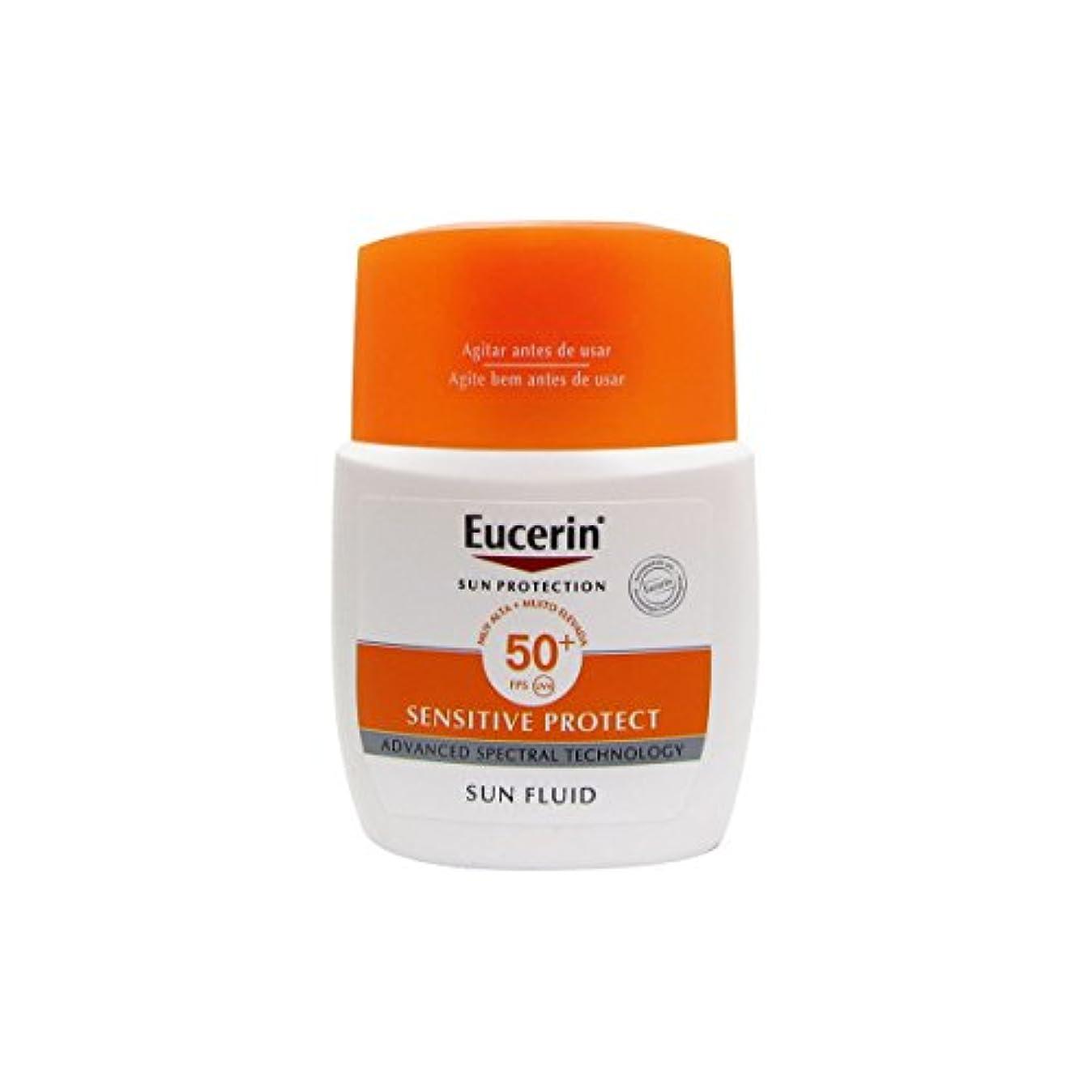 プレゼンウェイタータイヤEucerin Sun Mattifying Fluid Spf50+ 50ml [並行輸入品]