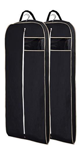 Misslo Breathable 54 Suit/Dress Black Garment Bag Pack of 2
