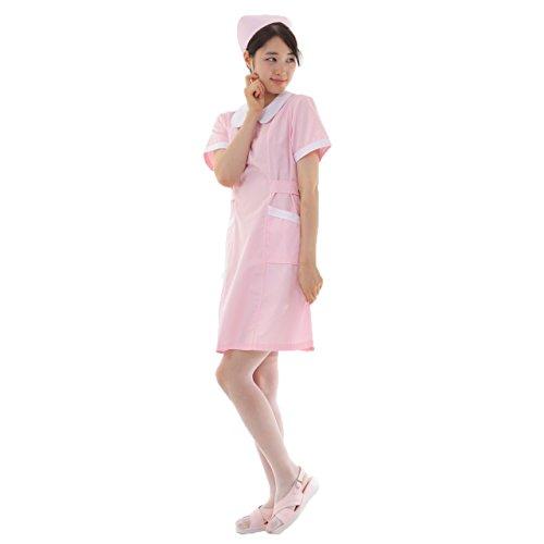 [해외](재팬 나이스) JapaNice 간호사를위한 간호사 복장 원피스 모자 클립 세트 여성 핑크 BC004/(Japan nice) JapaNice nurse nurse clothes one piece hat clip set ladies pink BC004