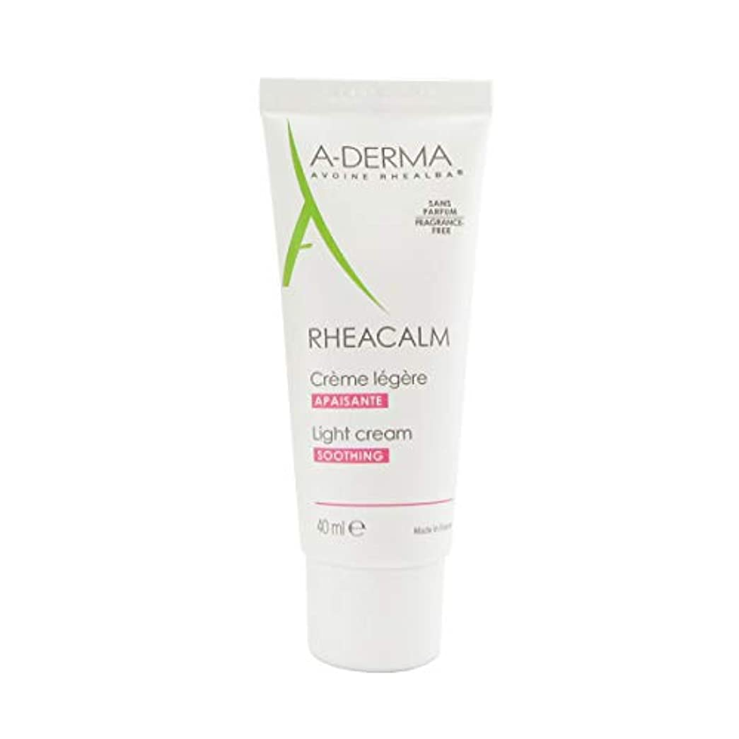 苦しむ早いトリッキーA-derma Rheacalm Light Soothing Cream 40ml [並行輸入品]