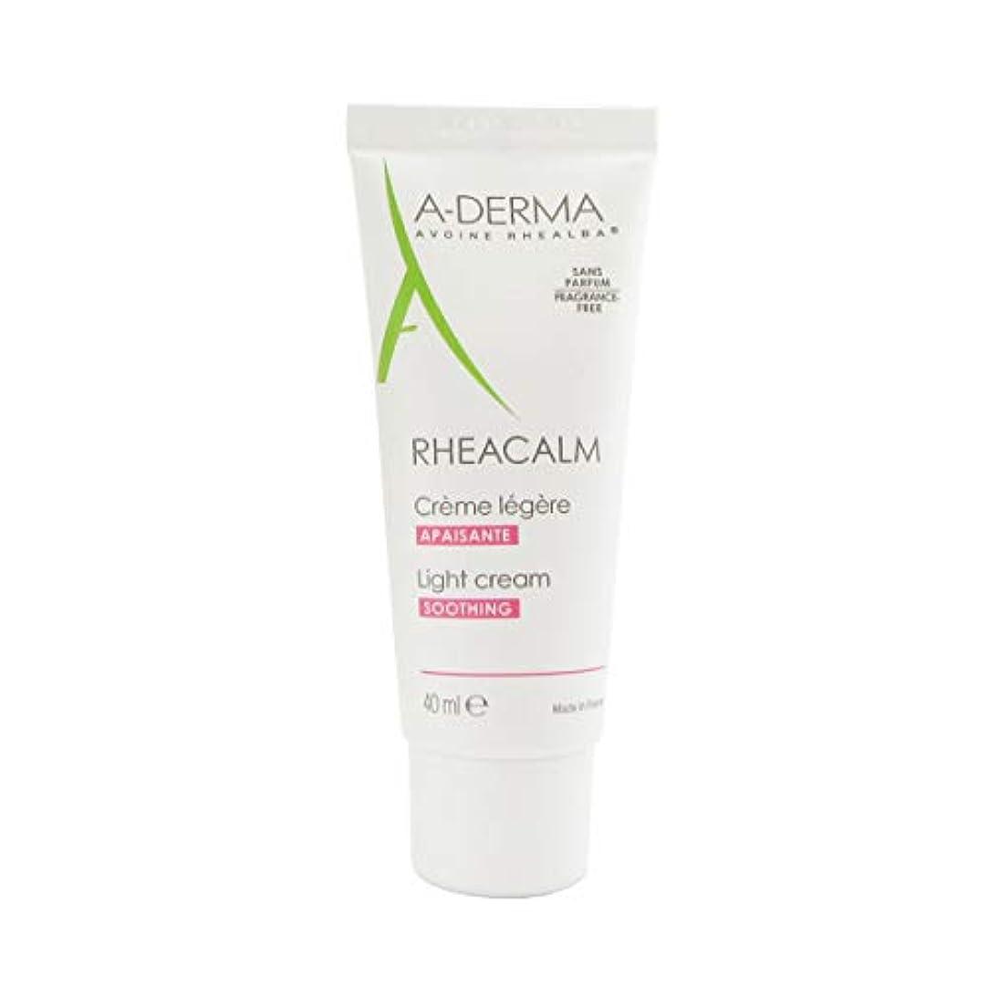 中クラッシュ洞察力のあるA-derma Rheacalm Light Soothing Cream 40ml [並行輸入品]