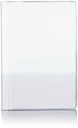 [コンサイス] 透明パスポートカバー 13cm 210917 CL クリア