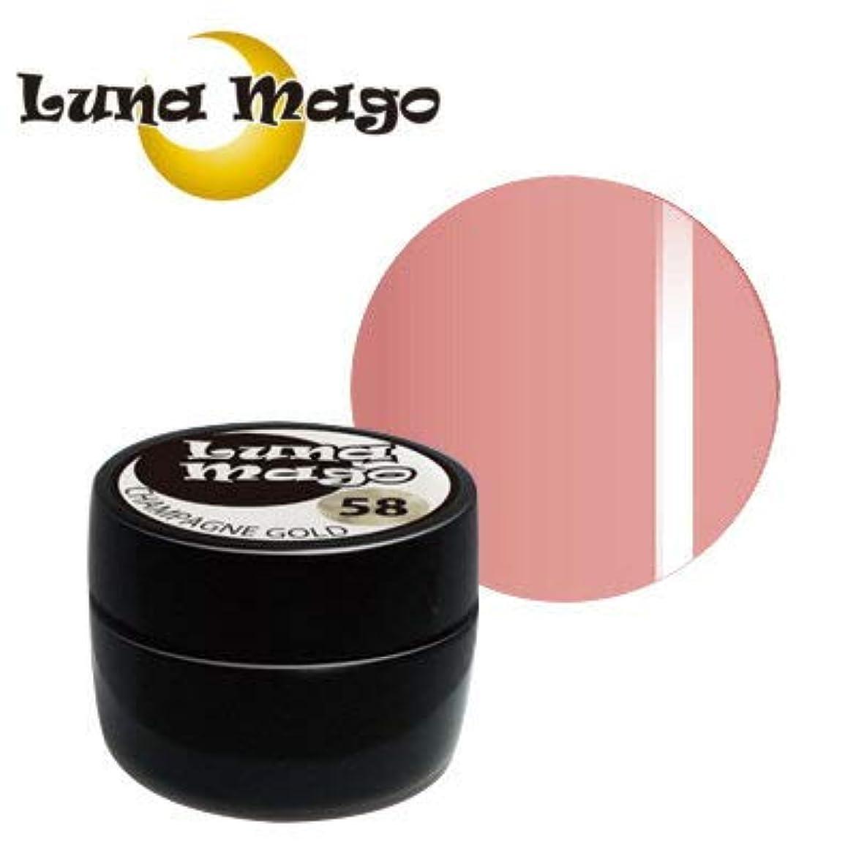 支店乳白複雑なLuna Mago カラージェル 5g 022 ネオピンク