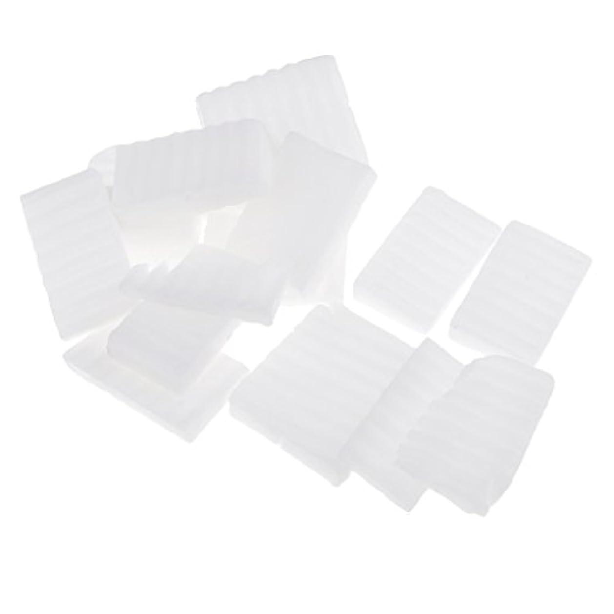 設計メナジェリー恐怖症Homyl 約500g ホワイト 石鹸ベース DIY 手作り 石鹸 材料