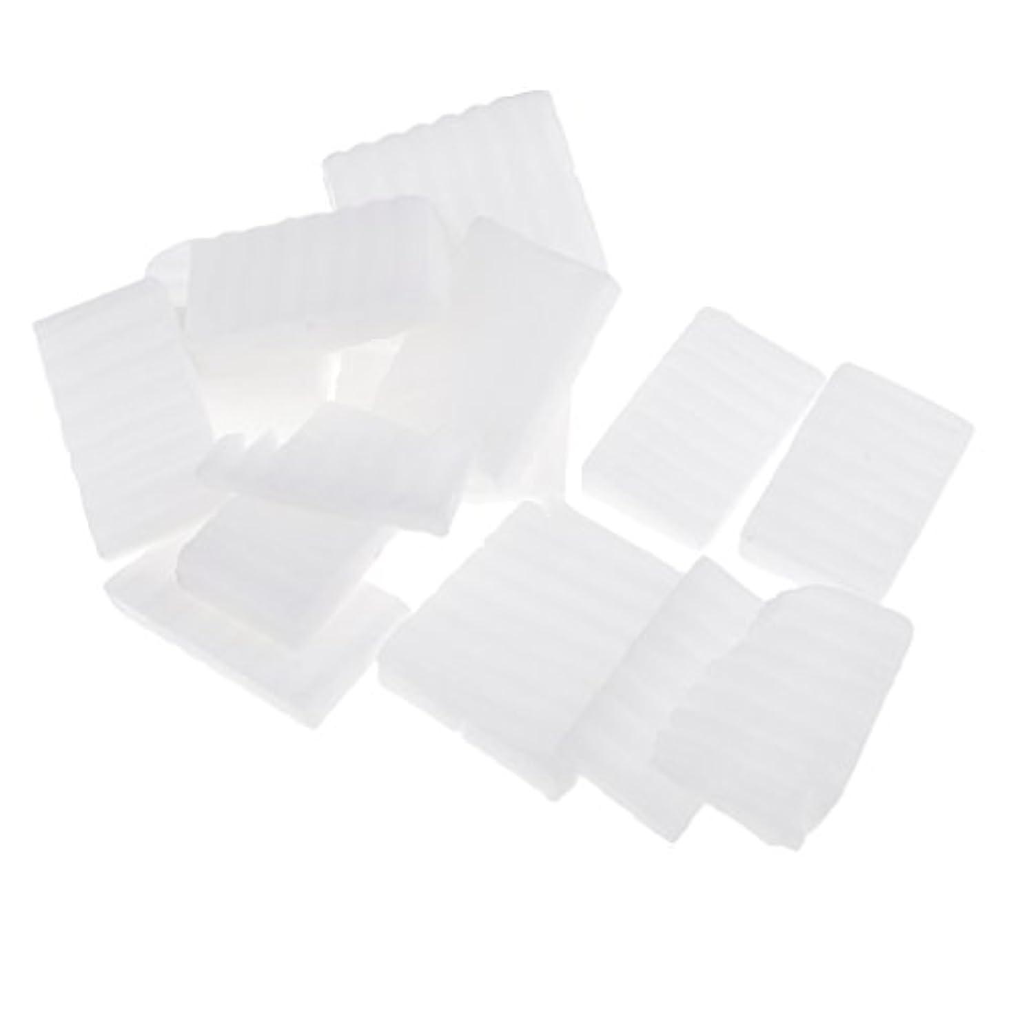 タヒチギャロップ静かなPerfeclan 約500g ホワイト 石鹸ベース DIY 手作り 石鹸 材料