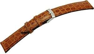 [モレラート]MORELLATO 時計バンド LIVERPOOL リバプール 18mm ブラウン 牛革型押し U0751 376 037 018
