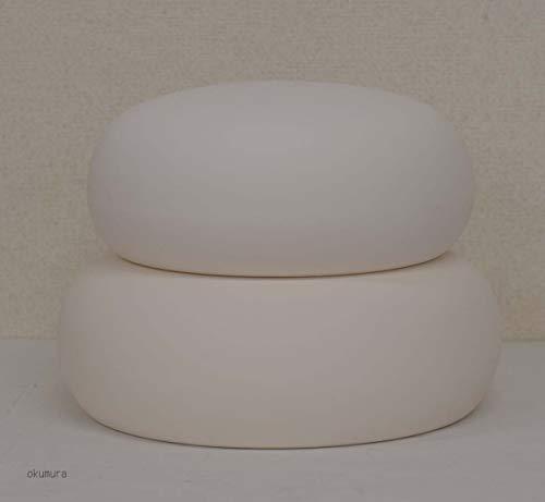 正月飾り◇お飾り鏡餅 陶器製◇何度も使える(特大サイズ)