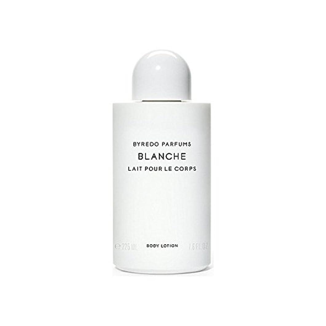 ナサニエル区世辞誘うブランシュボディローション225ミリリットル x4 - Byredo Blanche Body Lotion 225ml (Pack of 4) [並行輸入品]