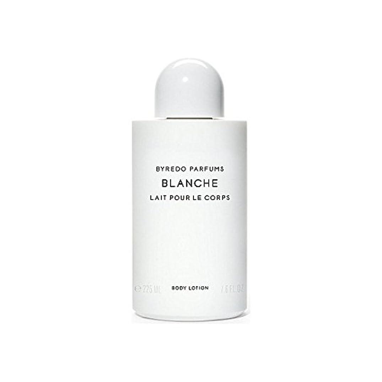 抑圧する乞食髄ブランシュボディローション225ミリリットル x4 - Byredo Blanche Body Lotion 225ml (Pack of 4) [並行輸入品]