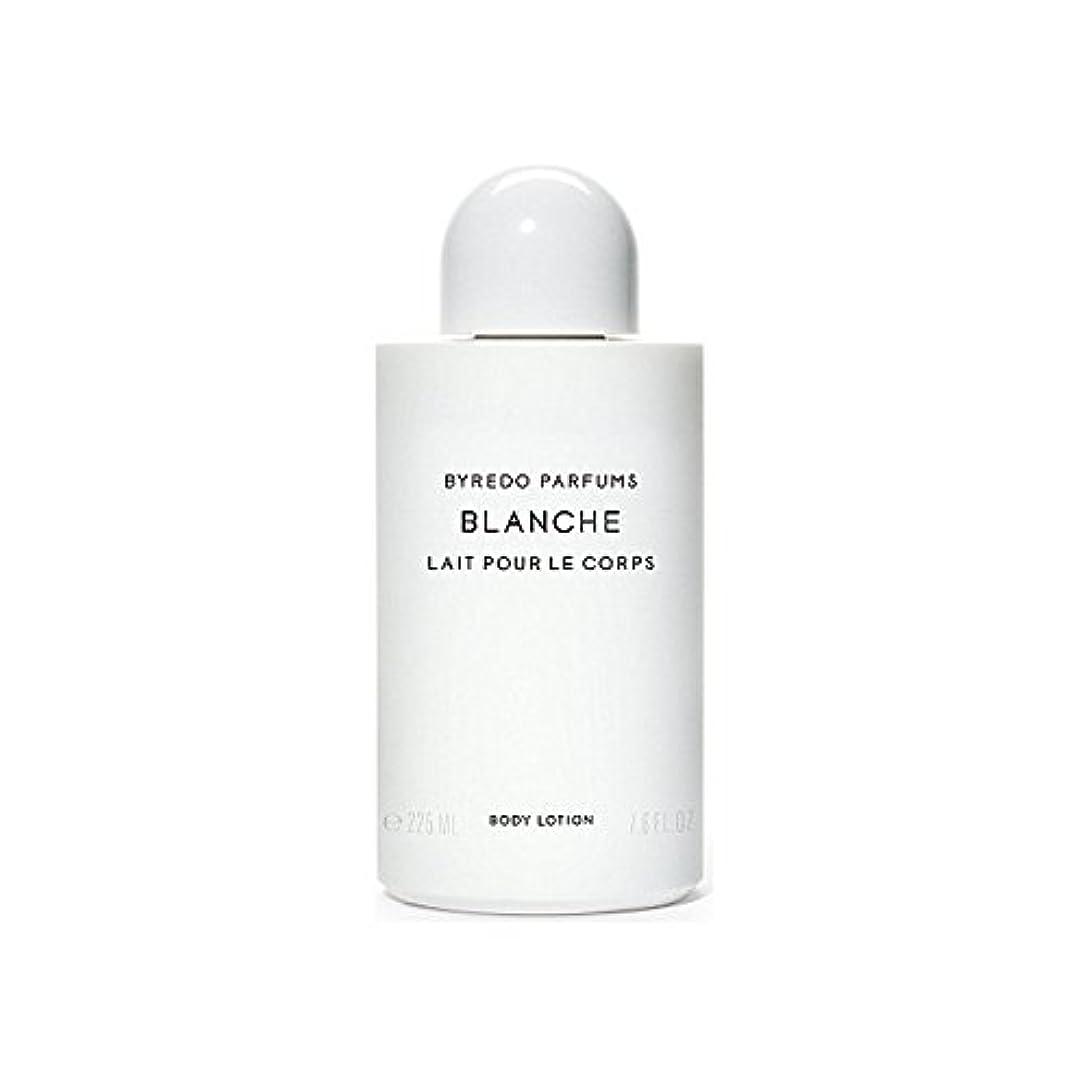 愛撫マークされたコーナーブランシュボディローション225ミリリットル x4 - Byredo Blanche Body Lotion 225ml (Pack of 4) [並行輸入品]