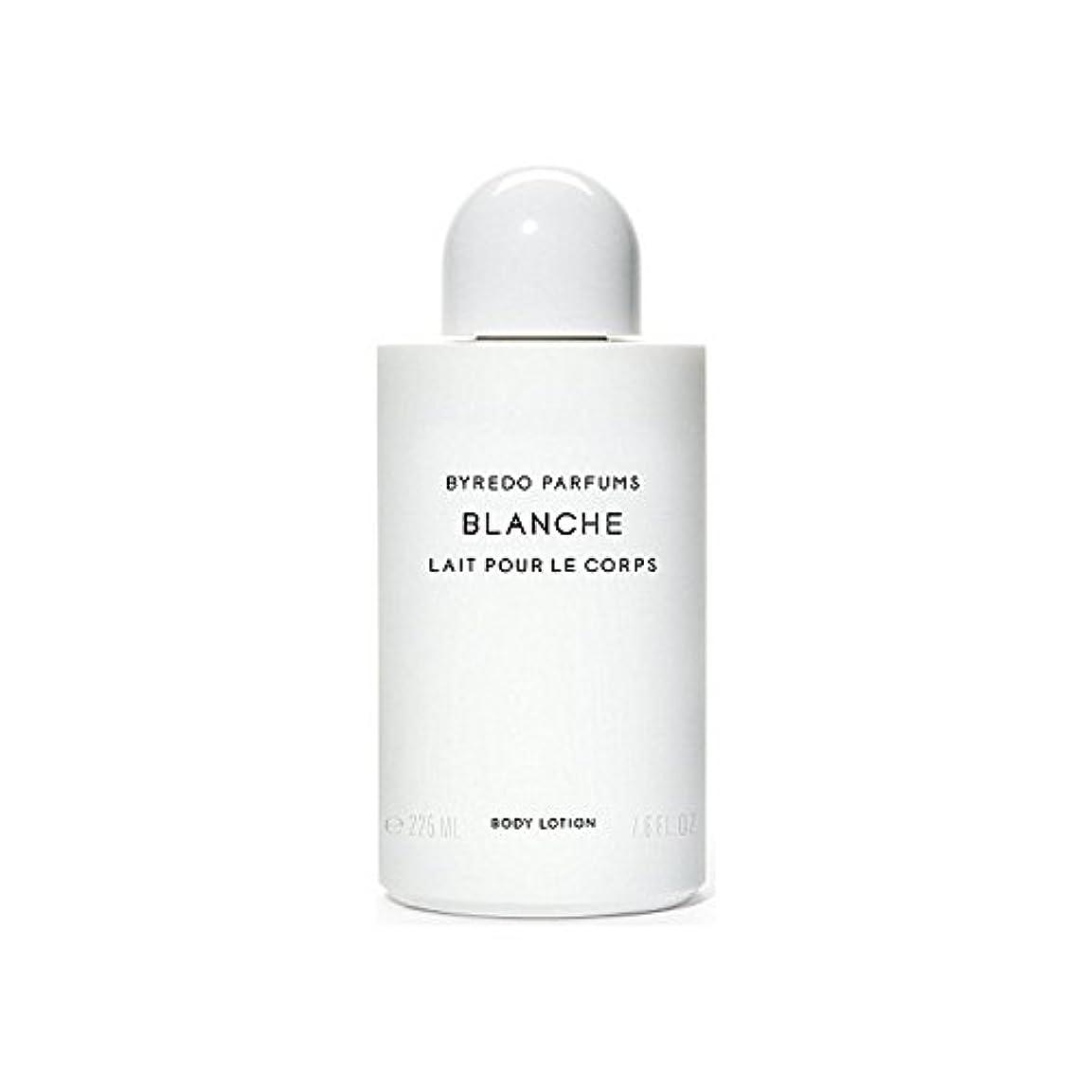 クラッシュコメントくしゃくしゃブランシュボディローション225ミリリットル x4 - Byredo Blanche Body Lotion 225ml (Pack of 4) [並行輸入品]